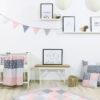 Nagyméretű Pihe-Puha Baba Játszószőnyeg & Járókabetét  120×120 Rózsaszín
