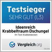 Teszt győztes német Ideenreich Óriás Játszószőnyeg