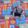 Pihe Puha Dzsungel Játszószőnyeg Vízálló, Csúszásmentes Hátoldallal 130×150